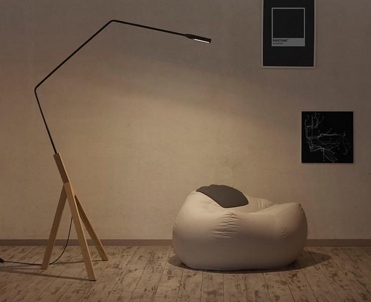Noneli Floor Lamp by AURIGA.