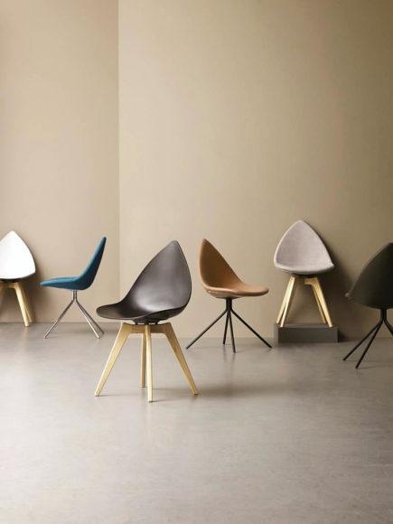 Καρέκλα Ottawa του Karim Rashid για την BoConcept.