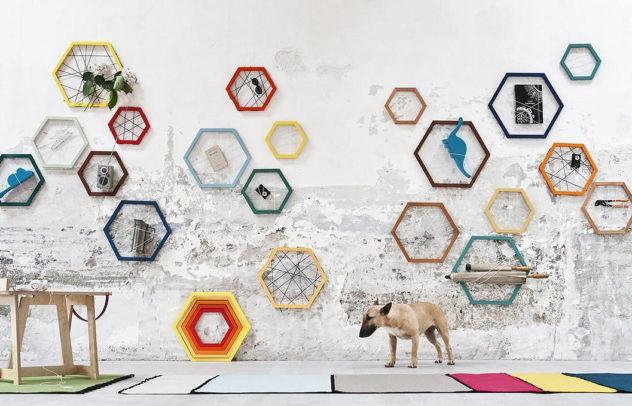 Racchetta Storage Frame by Ivana Mannavola