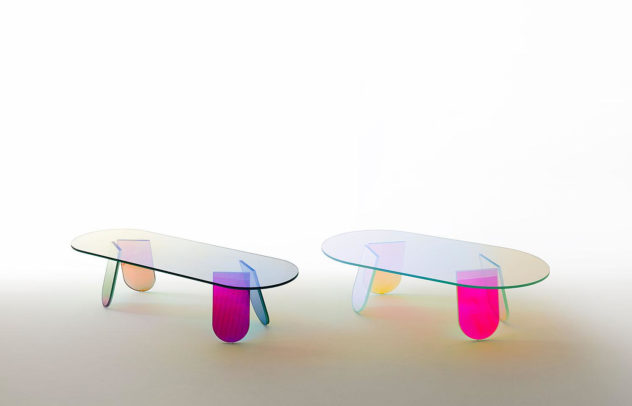 Shimmer Table Collection by Patricia Urquiola (4)
