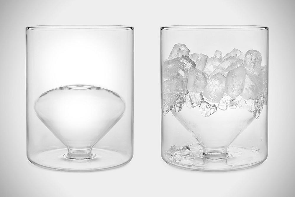 Suspended Ice Bucket by Rodolfo Dordoni