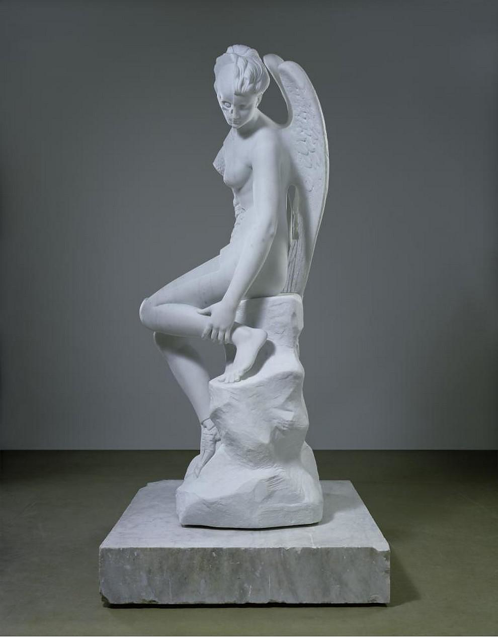 The Anatomy of an Angel by Damien Hirst.