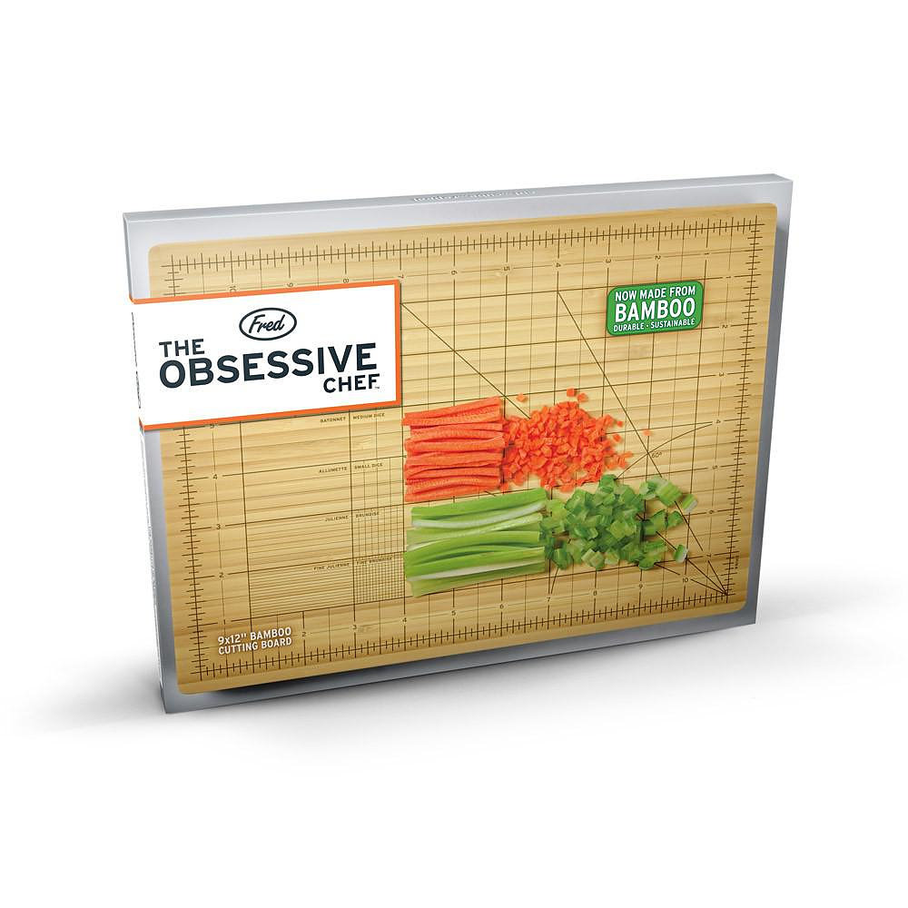 THE OBSESSIVE CHEF Cutting Board.