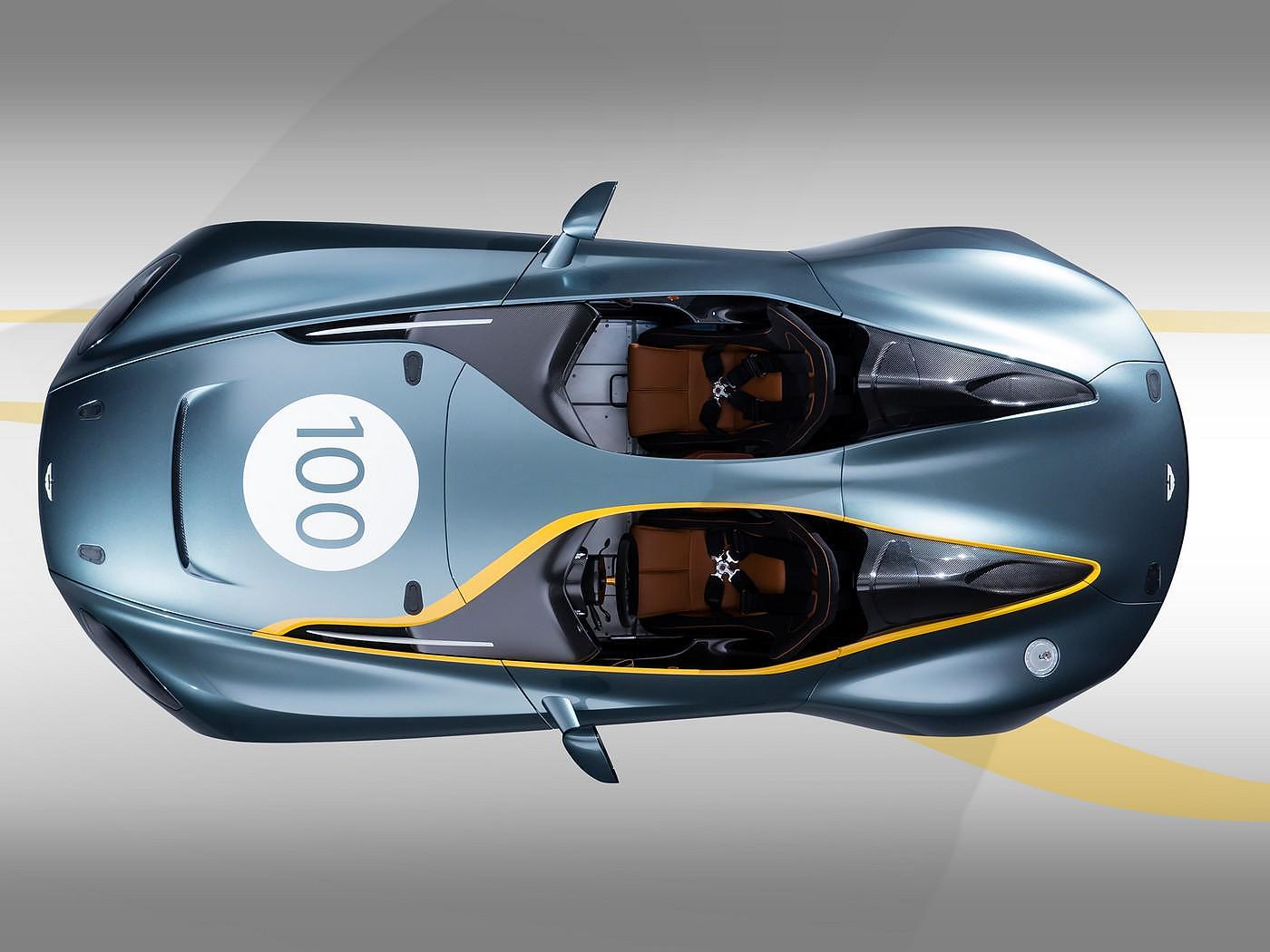 Aston Martin CC100 Speedster Concept Car.