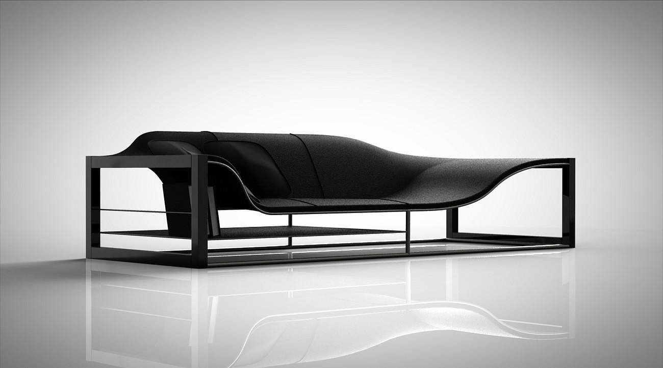 bucefalo sofa by emanuele canova design is this. Black Bedroom Furniture Sets. Home Design Ideas