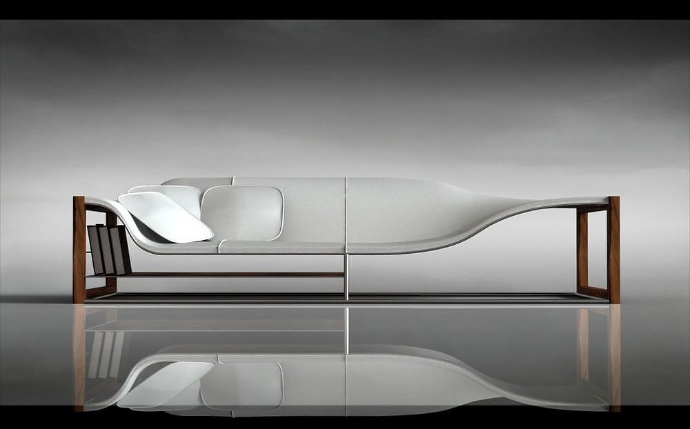 Bucefalo Sofa by Emanuele Canova.