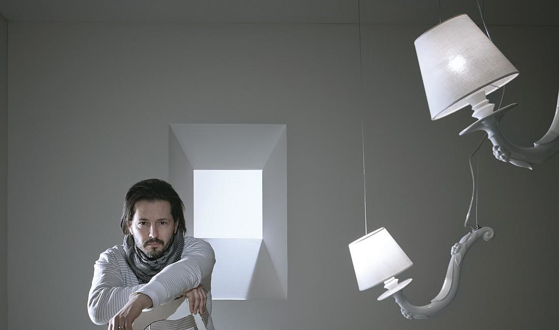 Deja Vu Pendant Lamp by Matteo Ugolini.