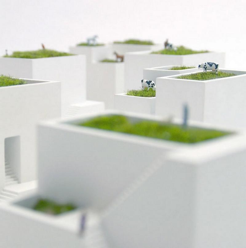 Ienami Bonkei Planters by Metaphys.