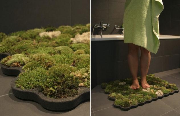 Living Moss Bath Mat by Nguyen La Chanh