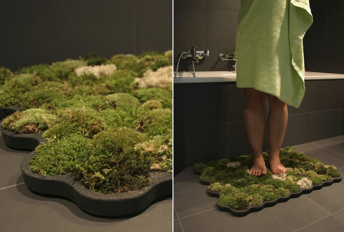 Living Moss Bath Mat By Nguyen La Chanh Design Is This