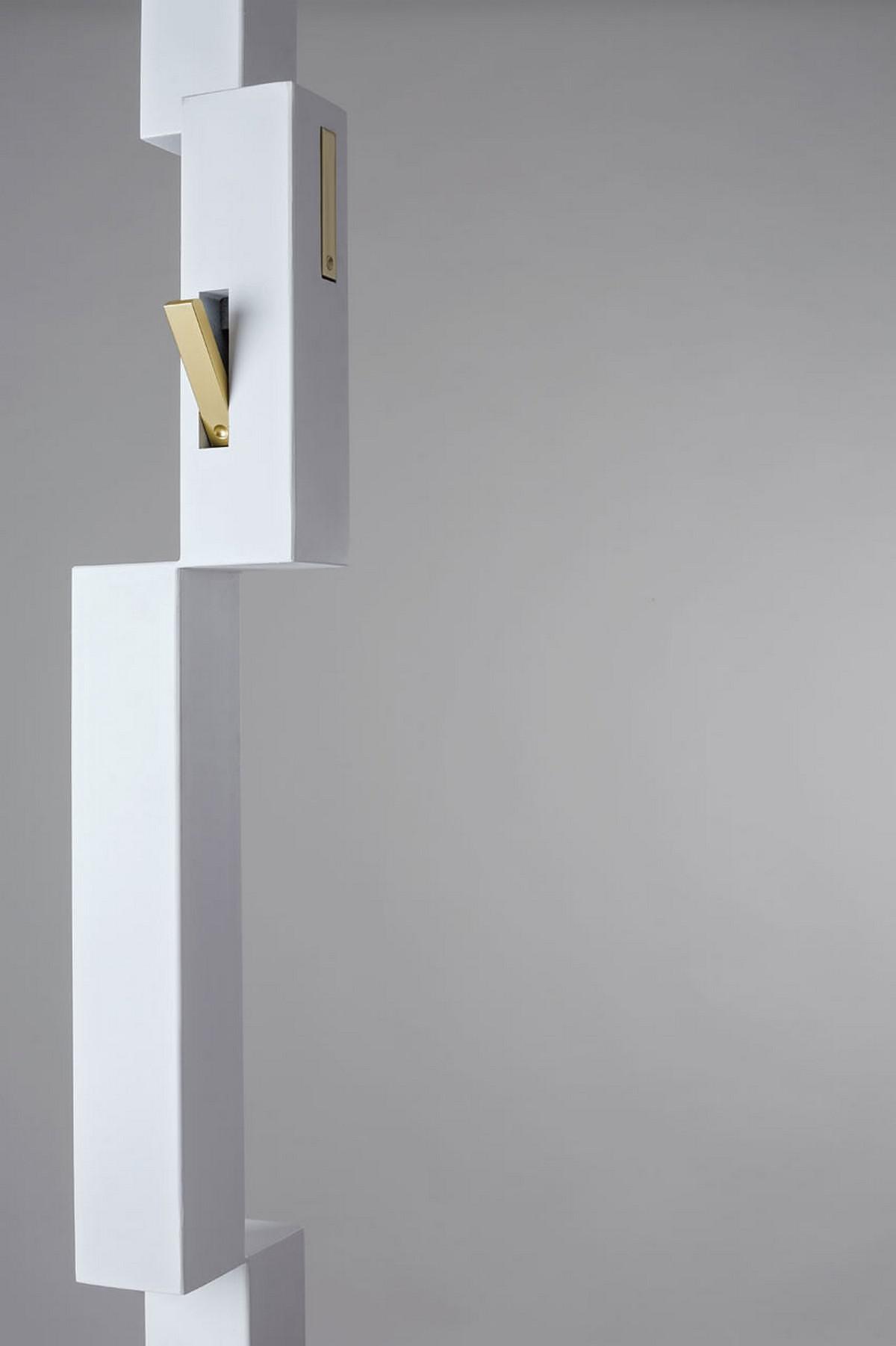 Pixel Coat Rack by Officina Art & Craft.