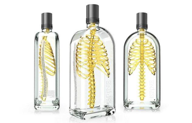 Spine Vodka concept Johannes Schulz