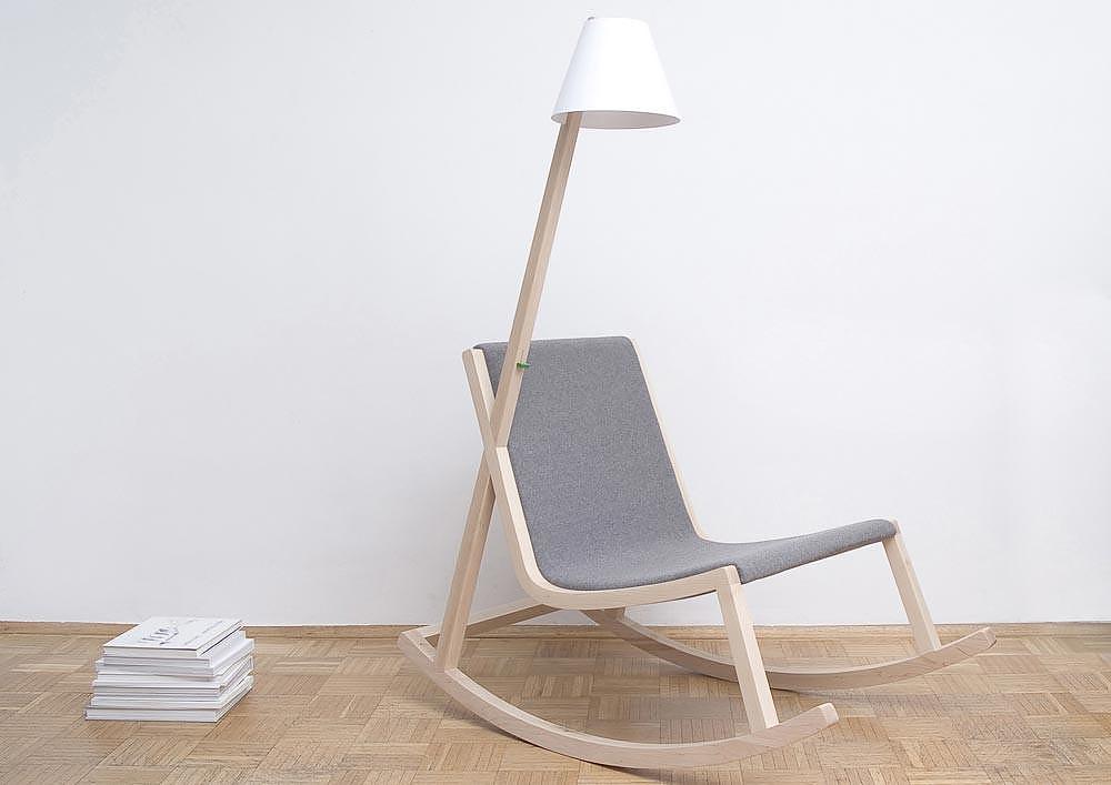 The Murakami Rocking Chair.