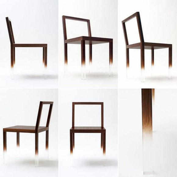 Καρέκλα Fade-Out της Nendo