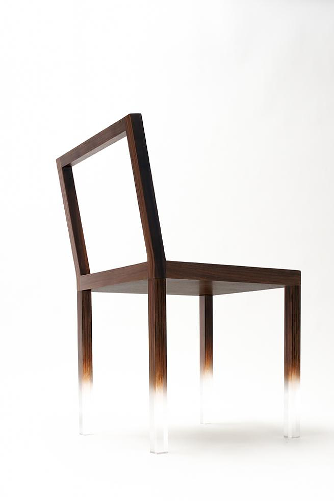 Fade-Out Chair by Nendo