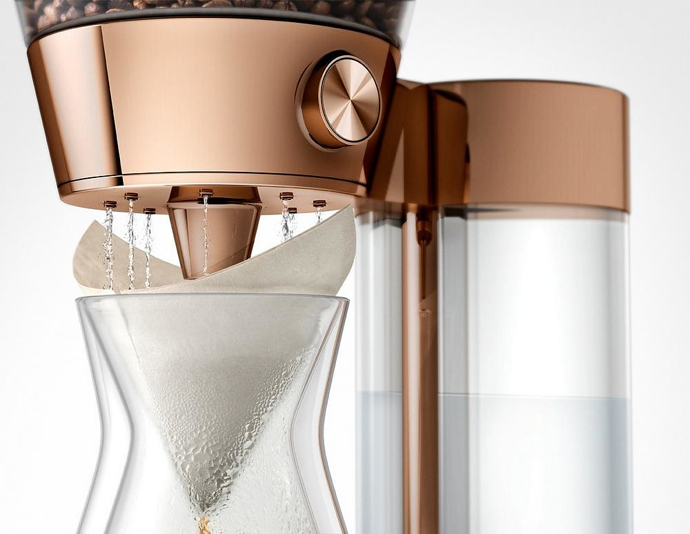 Poppy Pour-Over Coffee Machine by Quirky
