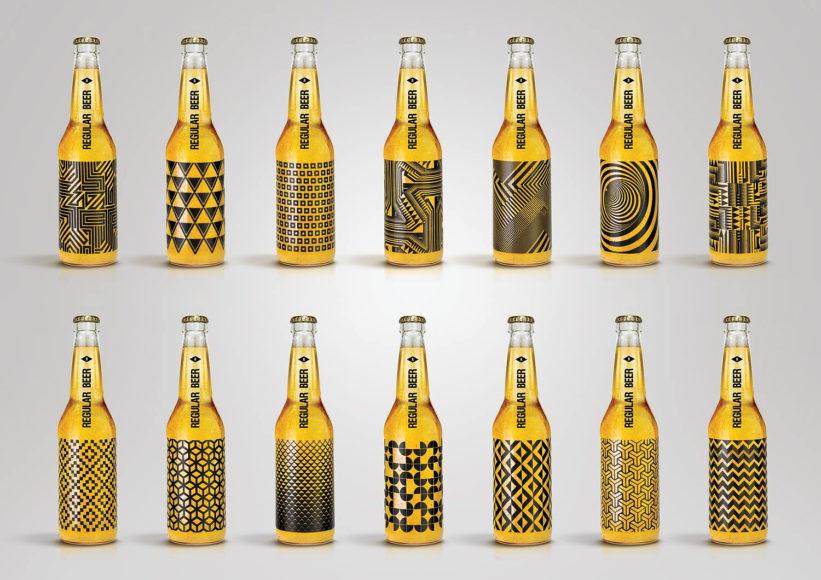 Μπουκάλια μπύρας Regular Beer του Kamil Piatkowski.