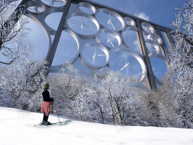 Solar Wind – Ανεμογεννήτριες σε μορφή γέφυρας.
