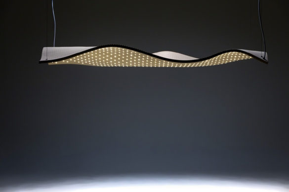 Grid Series Sculptural Wooden Lamps by Maarten De Ceulaer