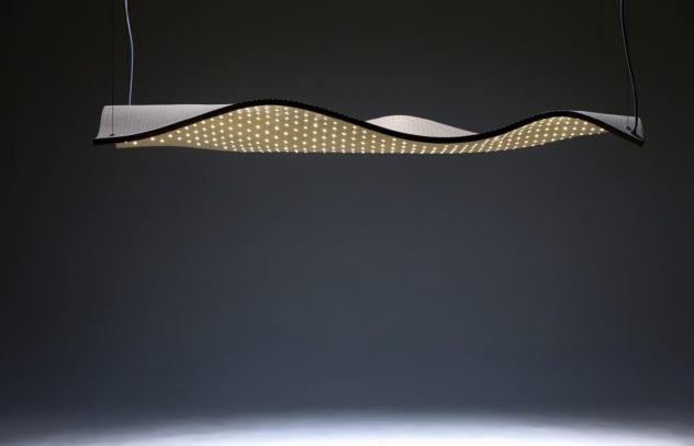Grid Series Sculptural Wooden Lights by Maarten De Ceulaer
