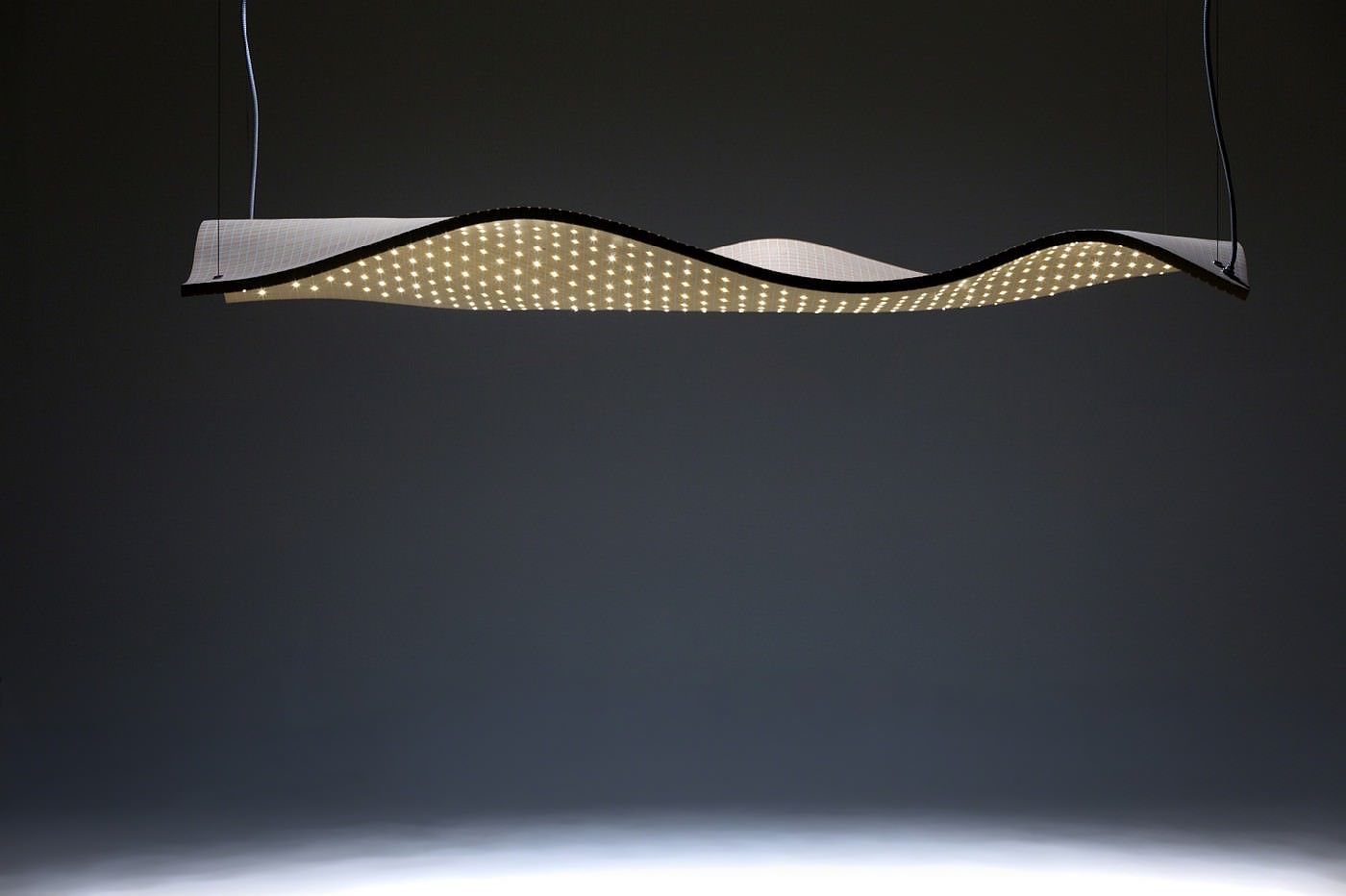 Grid Series Sculptural Wooden Lights by Maarten De Ceulaer