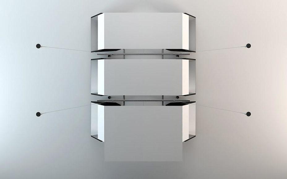 Κρεμαστό Τραπέζι Infinity της Bozhinovski Design.