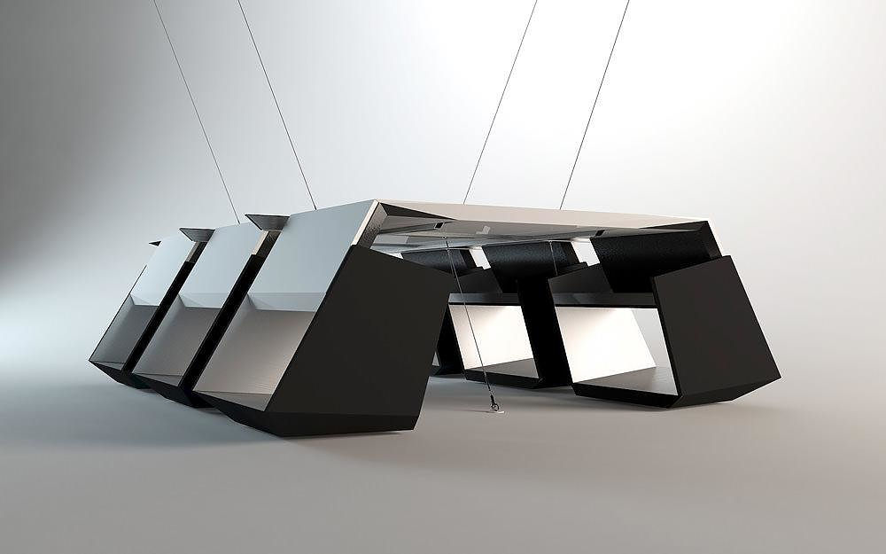 Infinity Table by Bozhinovski Design.
