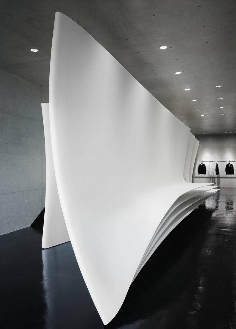 Neil Barrett Tokyo Flagship Store by Zaha Hadid Architects.