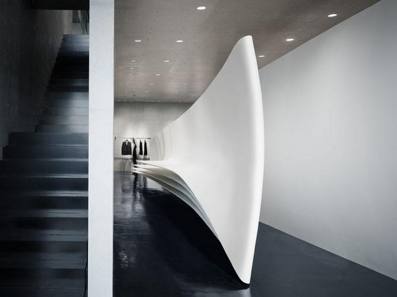 Μπουτίκ Neil Barrett στο Τόκυο από την Zaha Hadid.