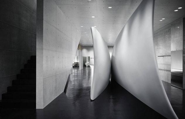 Neil Barrett Tokyo Flagship Store by Zaha Hadid Architects