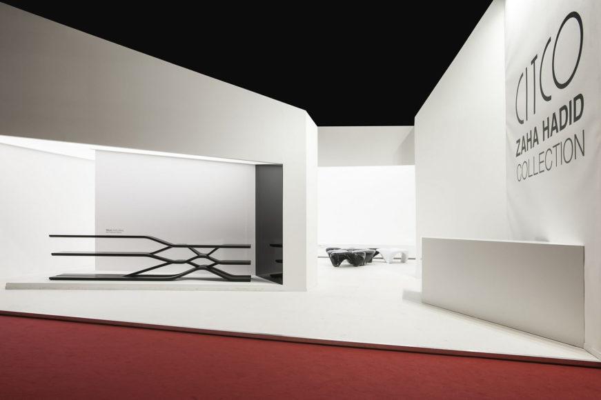 Σύστημα ραφιών TELA της Zaha Hadid για την CITCO.