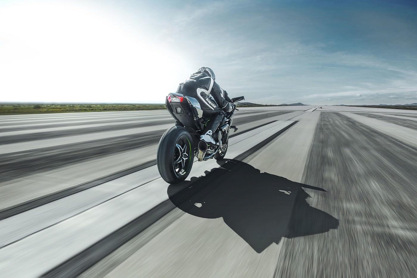 Kawasaki Ninja H2R Supercharged Superbike.