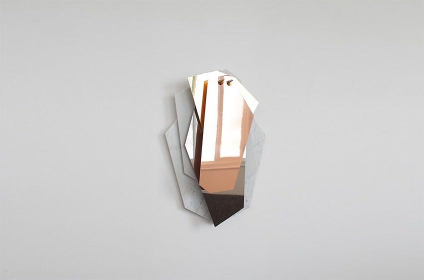 Facet Pattern Mirror Artworks by Arik Levy.