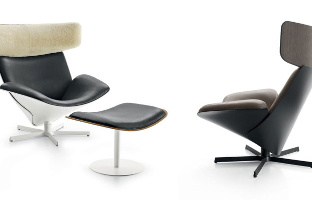 Almora armchair by Doshi Levien for B B Italia