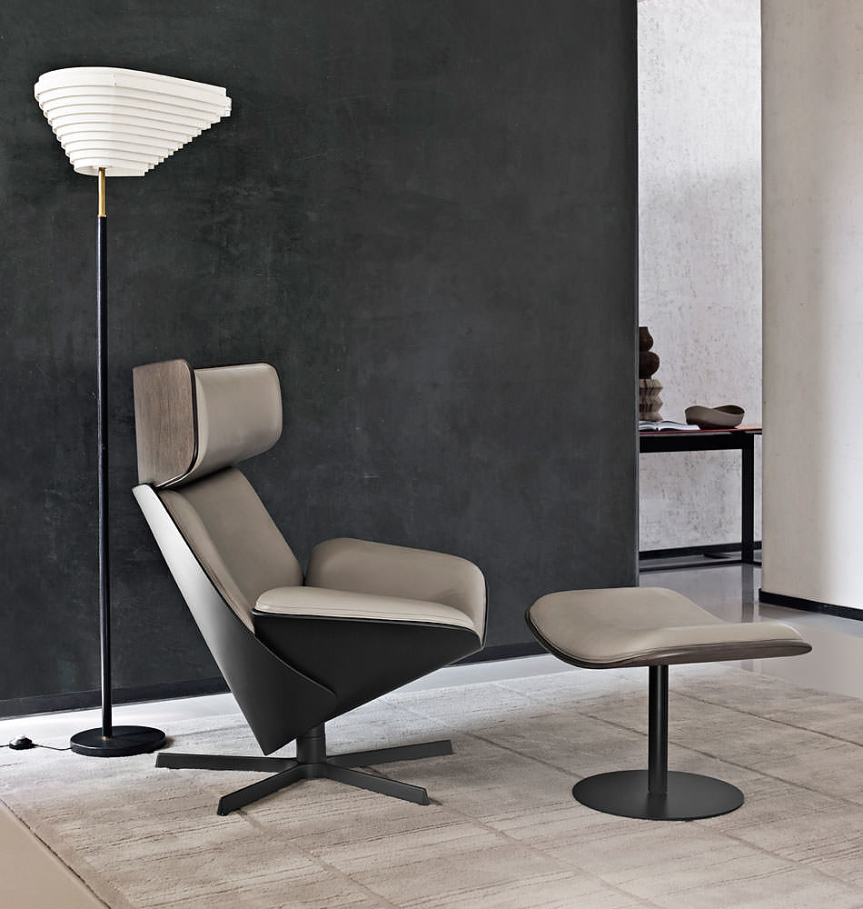 Almora armchair by doshi levien for b b italia for B b design