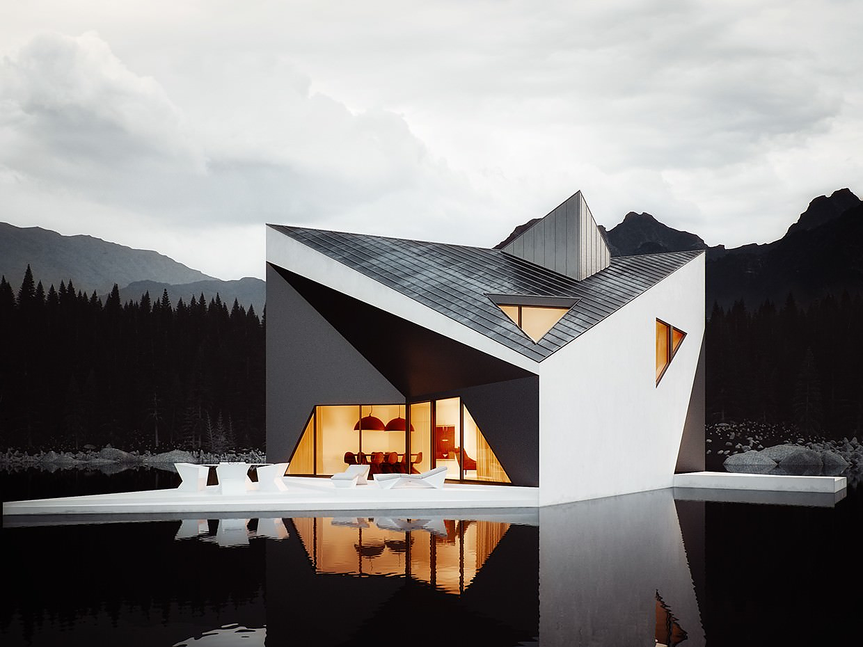 Crown House by 81.WAW.PL – Visualization by Michal Nowak.