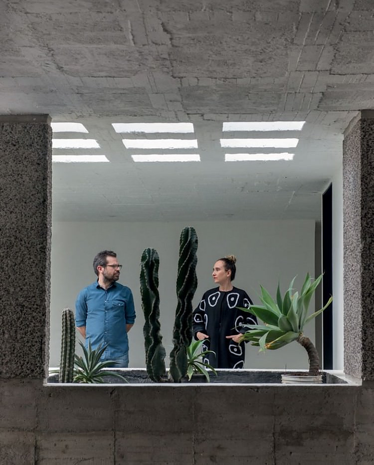 Brutalist beauty: Mexico City House by Pedro Reyes and Carla Fernandez.