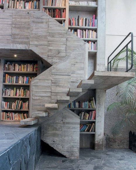 Η ομορφιά του τσιμέντου: Κατοικία στην πόλη του Μεξικού από τους Pedro Reyes και Carla Fernandez.