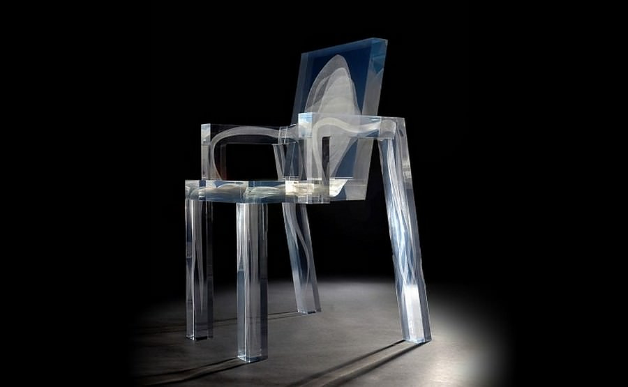 The Ghost Chair by Studio Drift.