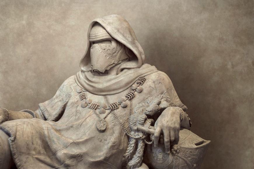 Ο Travis Durden αναπαριστά χαρακτήρες του Star Wars ως κλασσικά αρχαιοελληνικά αγάλματα.