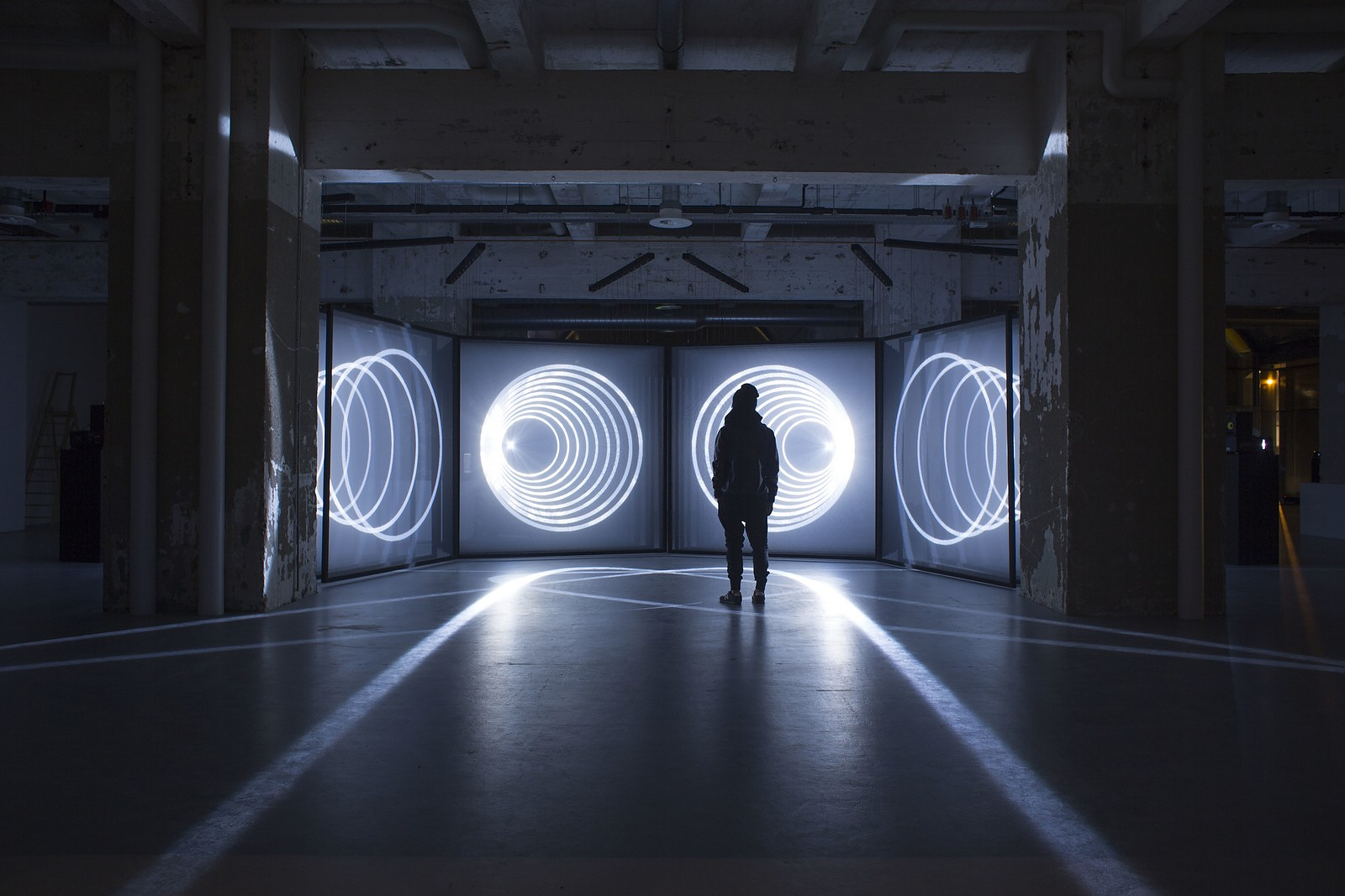 DAYDREAM audiovisual installation by NONOTAK STUDIO.