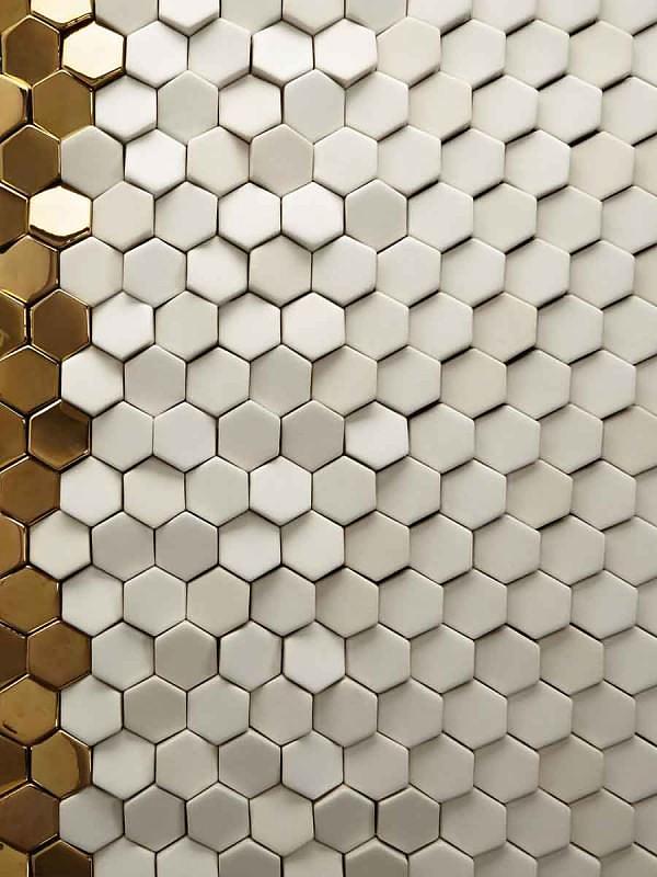 Innovative 3D Tiles by Giles Miller Studio.
