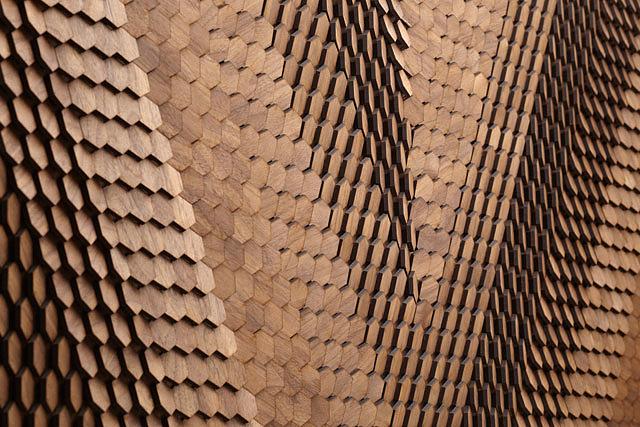 Ψηφίδες για επενδύσεις κτιρίων από το Giles Miller Studio.