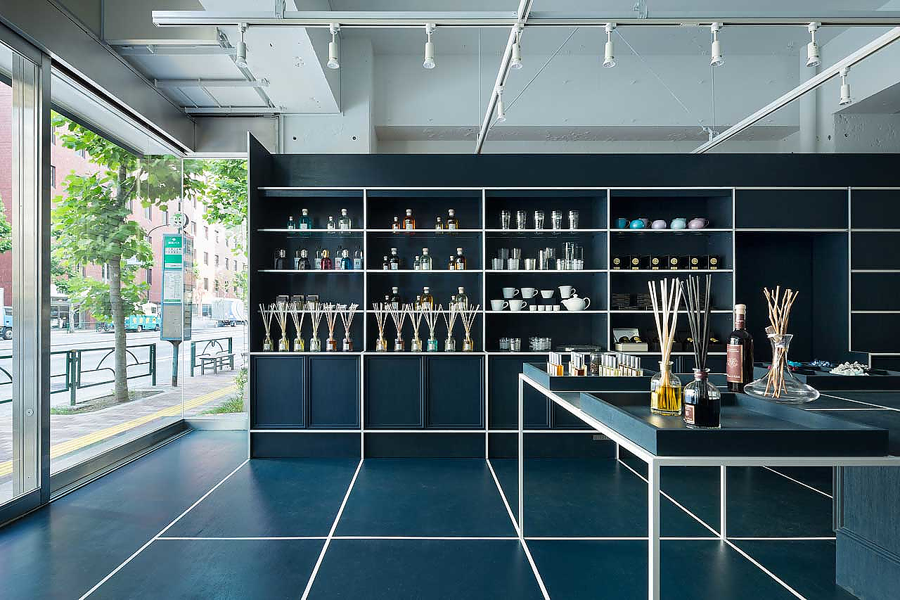Le Mistral Gift Shop in Tokyo by JP Architects.