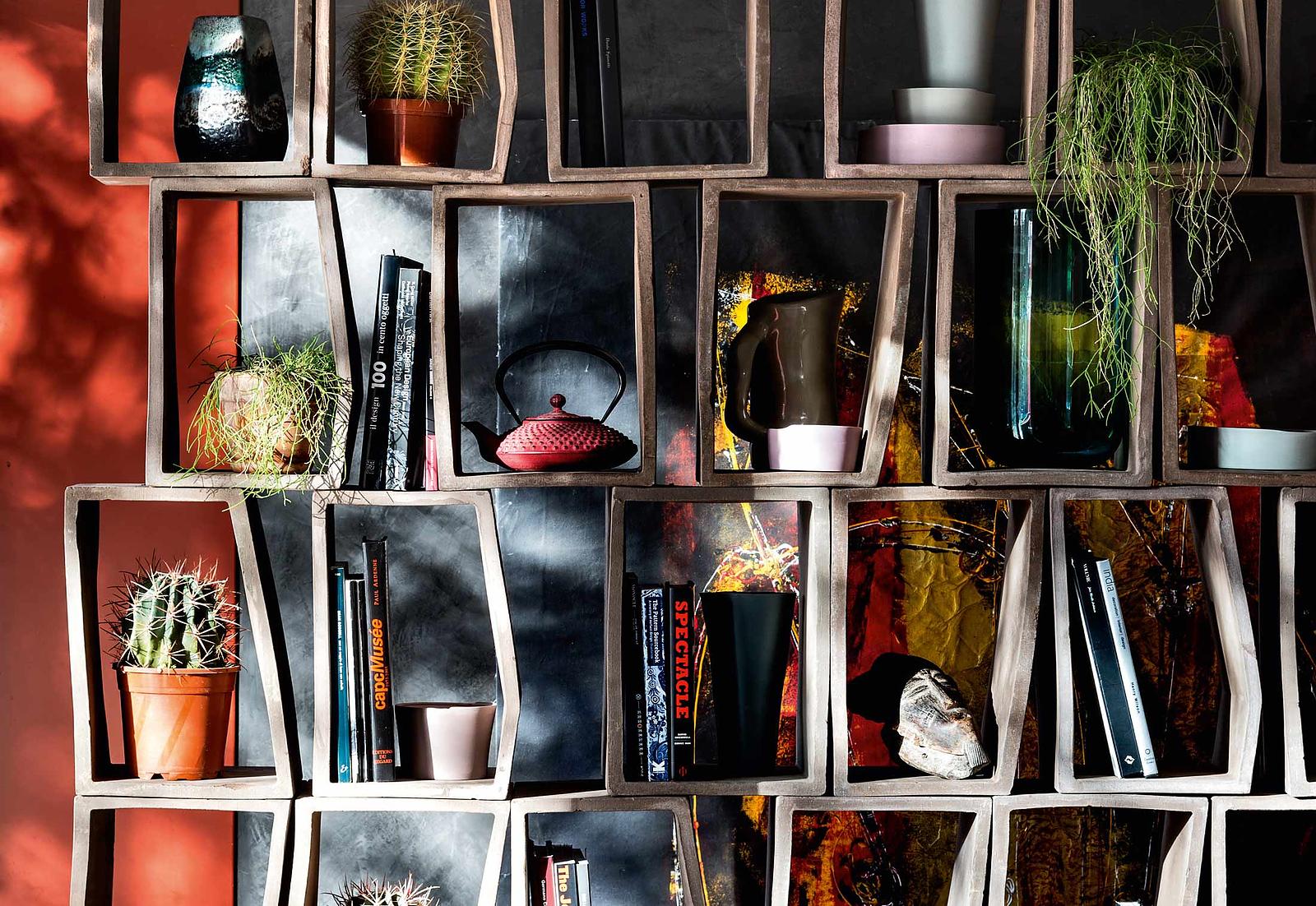Terreria Modular Bookcase by Moroso.