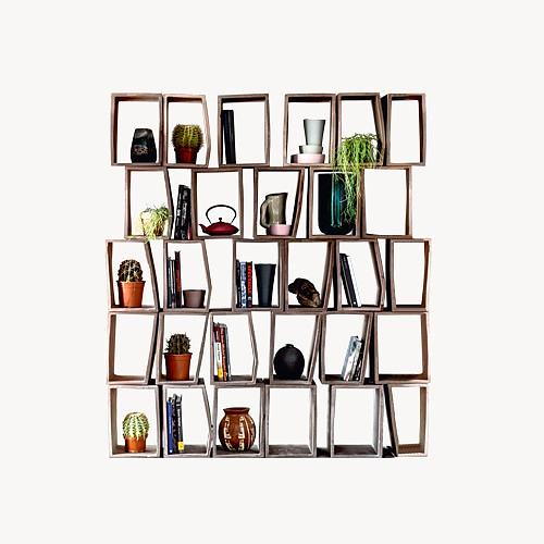 Συναρμολογούμενη βιβλιοθήκη Terreria της Moroso.
