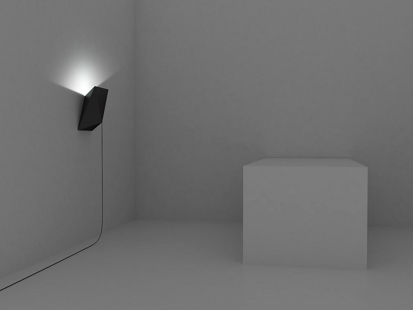 BAT Lamp by Julien de Smedt.