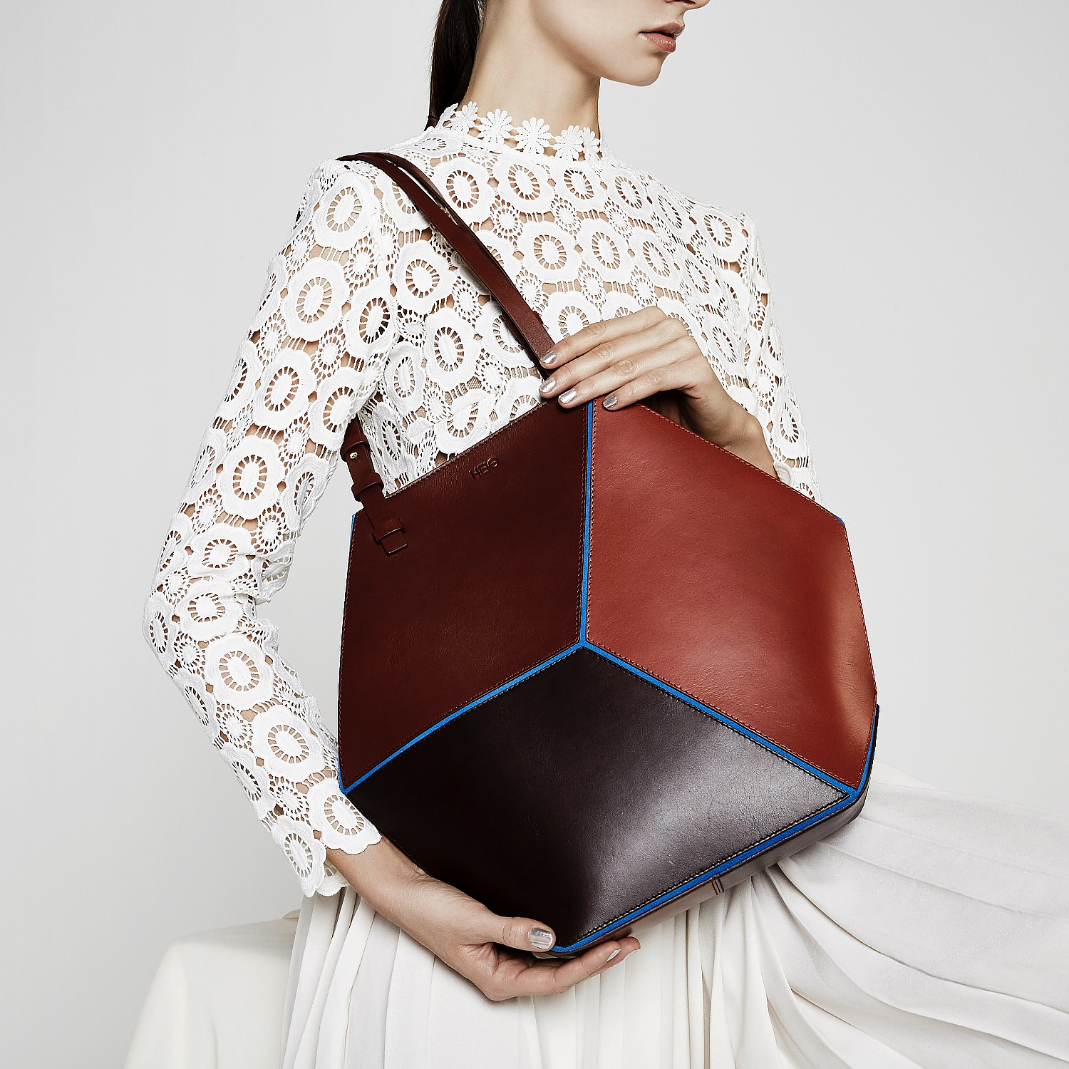 The Cube Geometric Bags by HEIO.