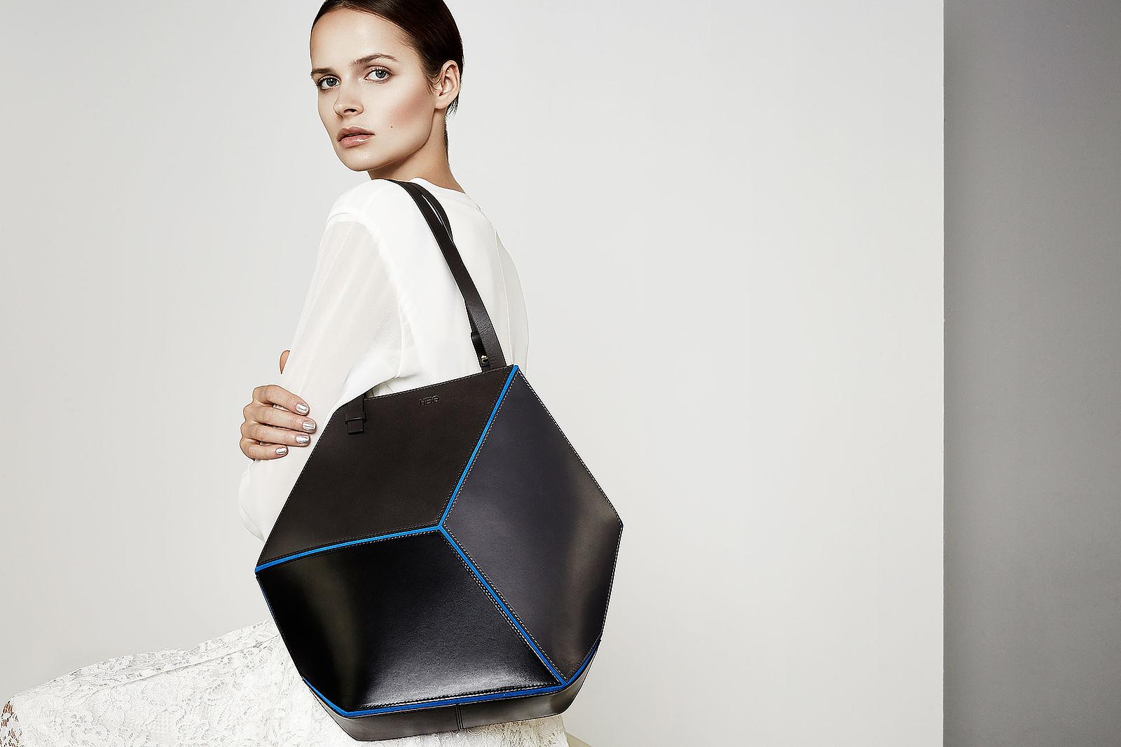 The Cube bag by HEIO