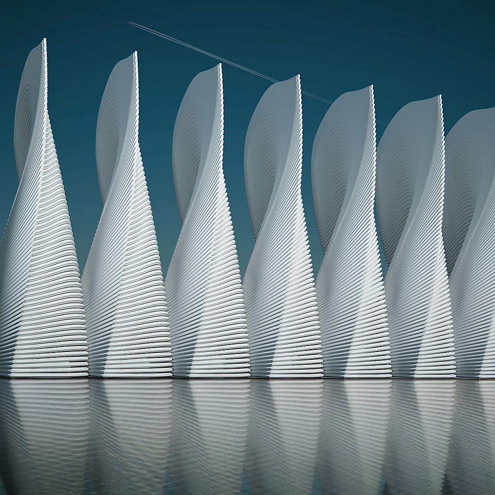 Was ist Metaphysik? Architectural Photo Artworks by Michele Durazzi.